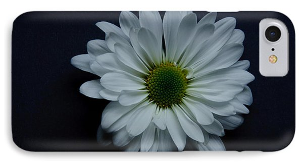 White Flower 1 Phone Case by Ron Smith