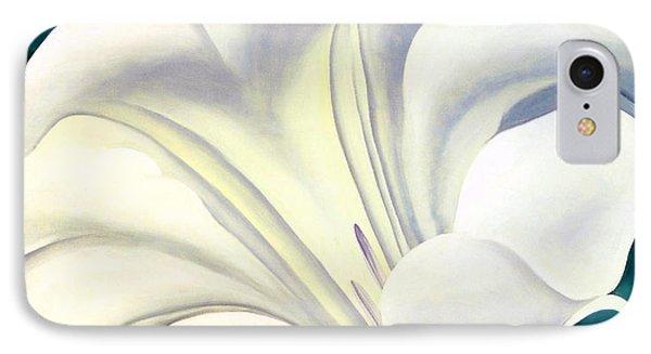 White Flower 10 IPhone Case by Sumit Mehndiratta