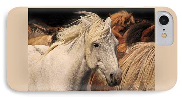 White Icelandic Horse IPhone Case