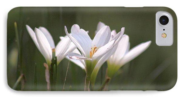 IPhone Case featuring the photograph White Lily - Symbol Of Purity by Ramabhadran Thirupattur