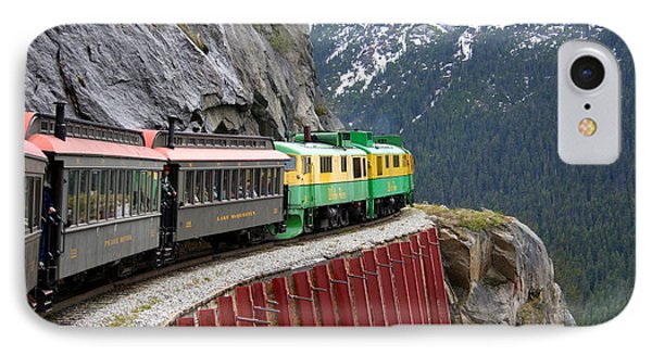 IPhone Case featuring the photograph White Pass Train Ride by Laurel Talabere