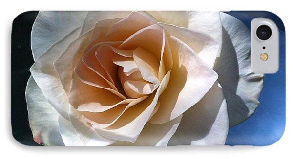 White Rose Phone Case by Addie Hocynec