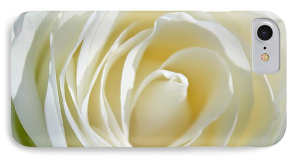 IPhone Case featuring the photograph White Rose by Ann Murphy