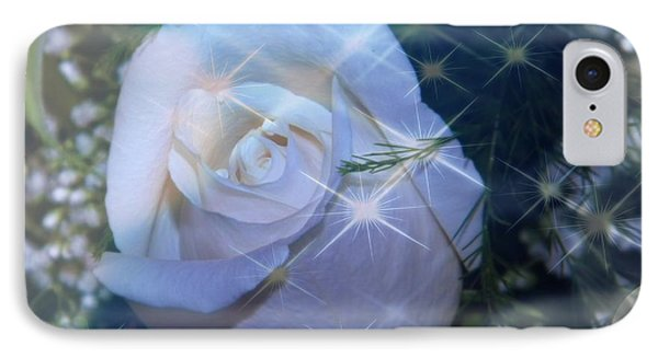 White Rose IPhone Case by Michelle Frizzell-Thompson