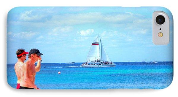 White Sails Phone Case by Danielle  Parent