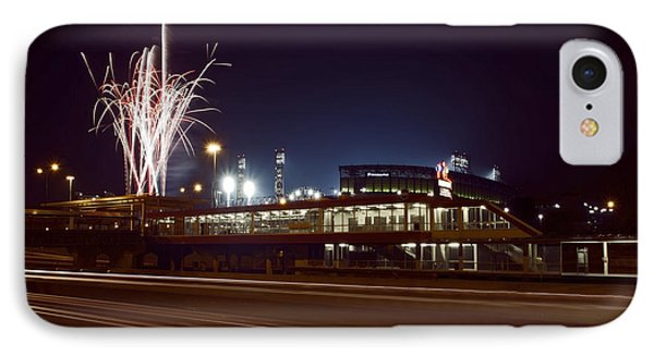 White Sox Homer Fireworks Phone Case by Sven Brogren
