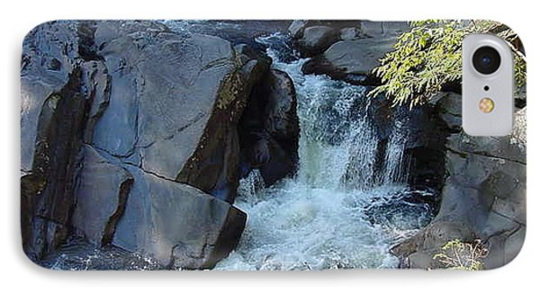 White Water Rushing IPhone Case by Val Oconnor
