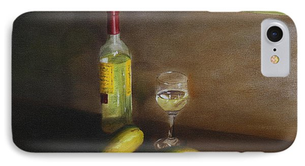 White Wine And Mangoes IPhone Case by Alan Mager