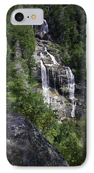 Whitewater Falls Phone Case by Rob Travis