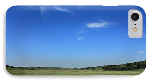 Wide Open Alberta Prairies IPhone Case by Jim Sauchyn