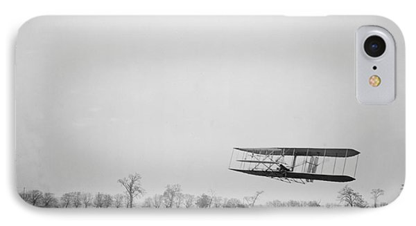 Wilbur Wright Piloting Wright Flyer II Phone Case by Science Source