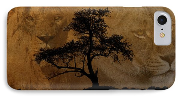 Wild IPhone Case by Cindy Haggerty