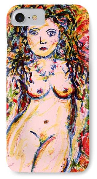 Wild Flower IPhone Case by Natalie Holland