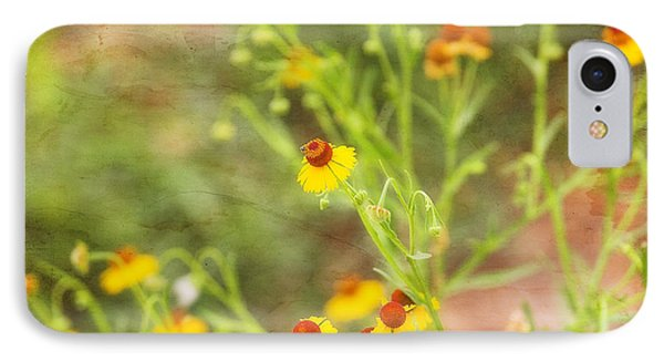 IPhone Case featuring the photograph Wild Flowers by Joan Bertucci
