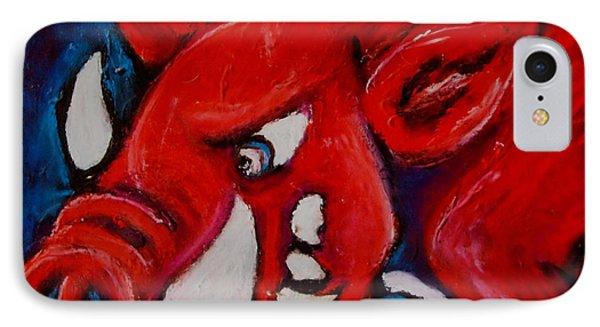 Wild Hog Phone Case by Laura  Grisham