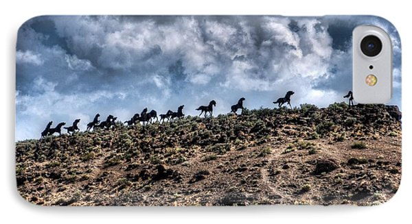 Wild Horses Monument IPhone Case