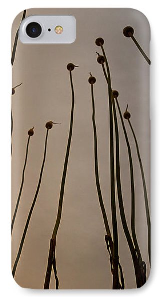 Wild Onions IPhone Case by Stelios Kleanthous