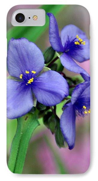 Wildflower Trilogy Phone Case by Marty Koch