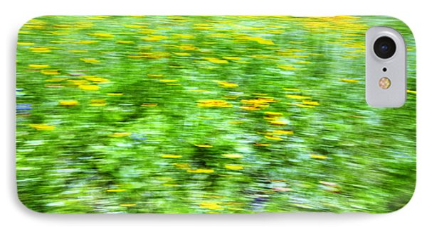 Wildflowers And Wind 2 Phone Case by Skip Nall