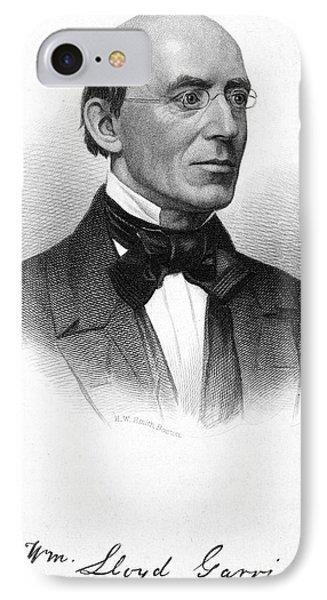 William Lloyd Garrison Phone Case by Granger