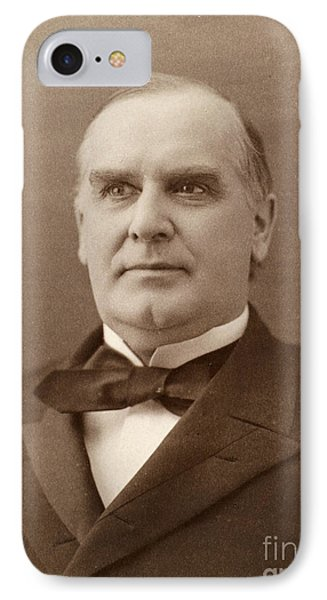William Mckinley (1843-1901). 25th President Of The United States. Photographed In 1896 Phone Case by Granger