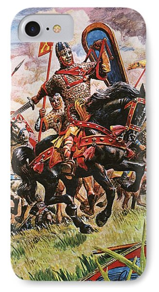 William The Conqueror At The Battle Of Hastings IPhone Case by Peter Jackson