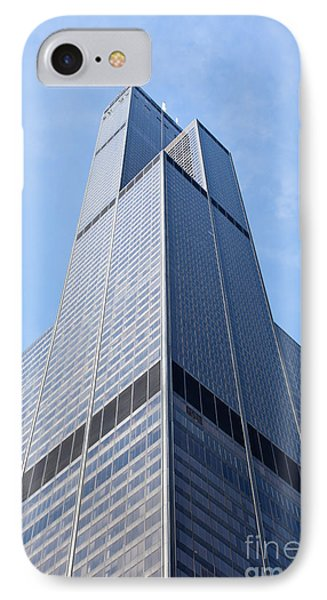 Willis-sears Tower In Chicago IPhone Case by Paul Velgos