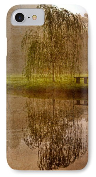 Willow On The Pond IPhone Case