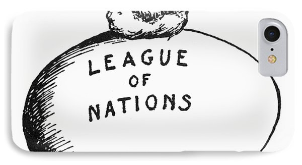 Wilson: League Of Nations Phone Case by Granger