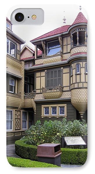 Winchester House - Door To Nowhere IPhone Case by Daniel Hagerman