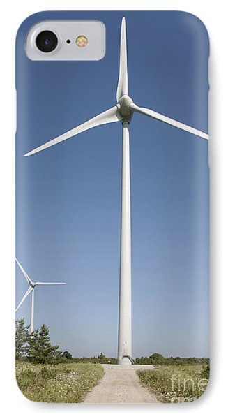 Wind Turbines Phone Case by Jaak Nilson