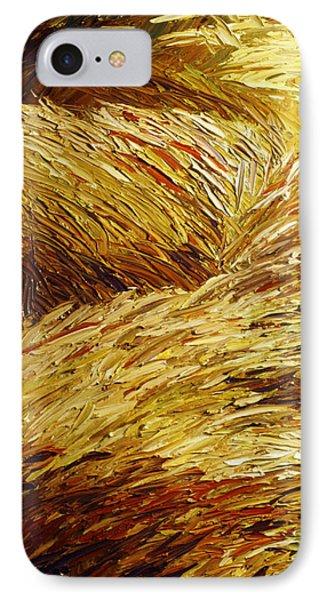 Windblown Grass Phone Case by Raette Meredith
