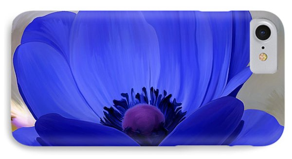 Windflower Phone Case by Patricia Griffin Brett