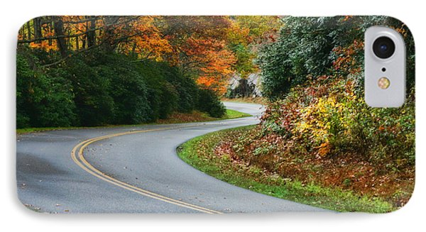 IPhone Case featuring the photograph Winding Road by Joan Bertucci