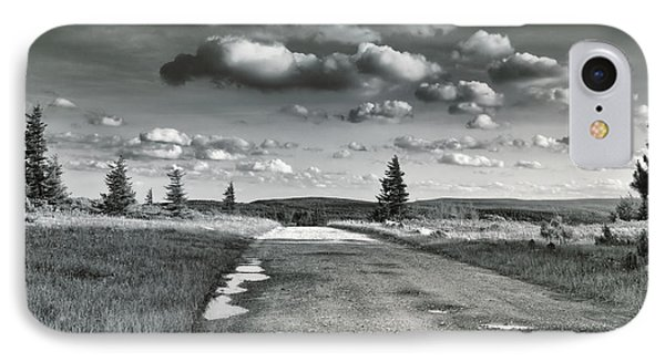 IPhone Case featuring the photograph Winding Road by Mary Almond