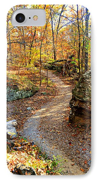 Winding Trail Phone Case by Marty Koch