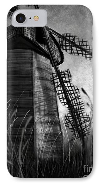 Windmill Wounded IPhone Case
