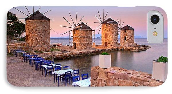 Windmills 2  Phone Case by Emmanuel Panagiotakis