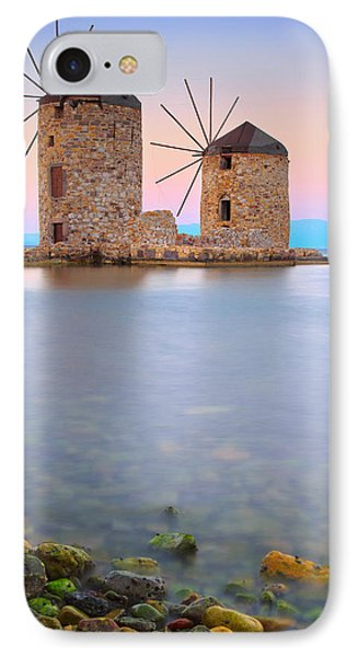 Windmills  Phone Case by Emmanuel Panagiotakis