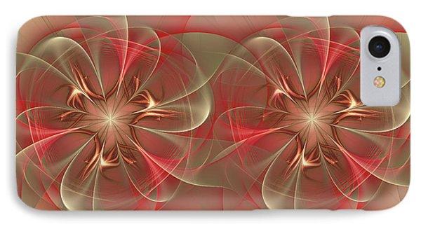 Windmills Of My Mind IPhone Case by Georgiana Romanovna