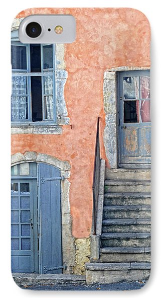 IPhone Case featuring the photograph Window And Doors Provence France by Dave Mills