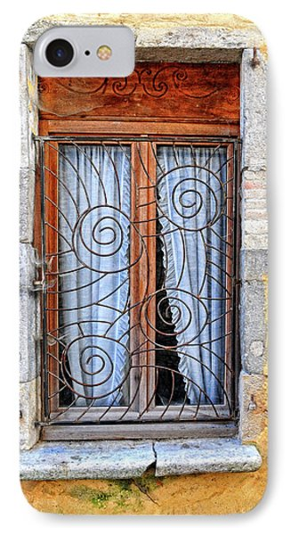 IPhone Case featuring the photograph Window Provence France by Dave Mills