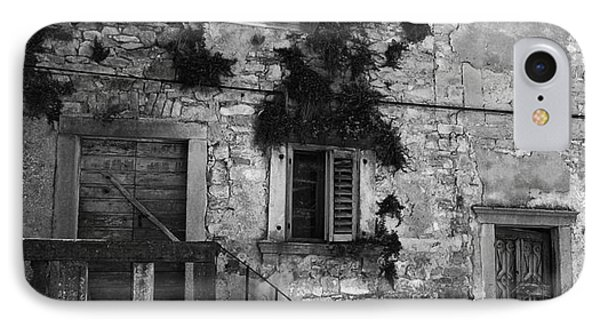 IPhone Case featuring the photograph Crumbling In Croatia by Andy Prendy