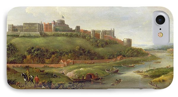 Windsor Castle Phone Case by Hendrick Danckerts