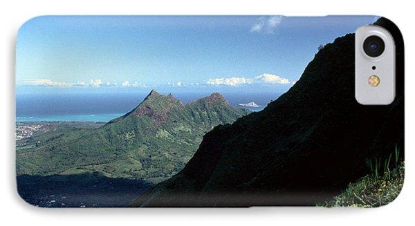 Windward Oahu From The Koolau Mountains Phone Case by Thomas R Fletcher