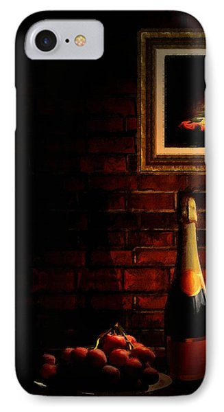 Wine And Grape Phone Case by Lourry Legarde