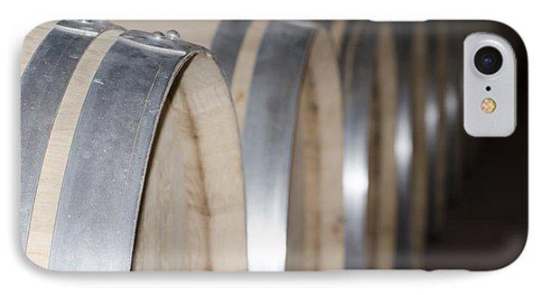 Wine Barrels Phone Case by Mats Silvan