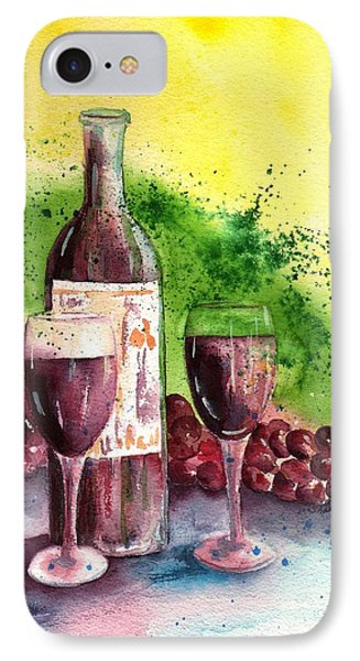 Wine For Two - 2 Phone Case by Sharon Mick