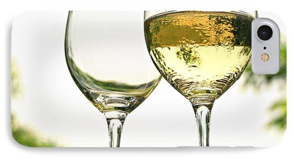 Wine Glasses IPhone Case by Elena Elisseeva