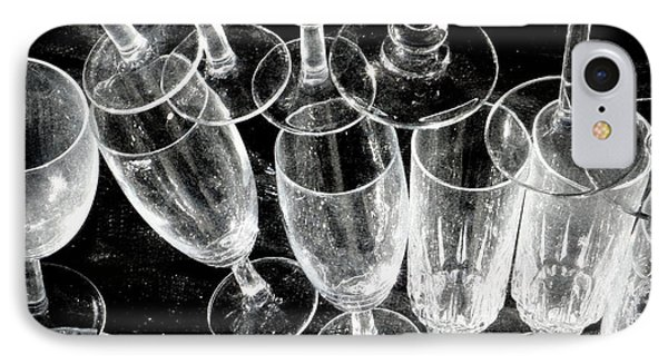 Wine Glasses Phone Case by Lainie Wrightson